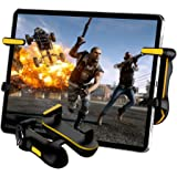 PUBG Mobile Controller for Tablet, Auto High Frequency Click Mobile Game Controllers Trigger for PUBG/Fortnite/Rules of…