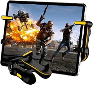 PUBG Mobile Controller for Tablet, Auto High Frequency Click Mobile Game Controllers Trigger for PUBG/Fortnite/Rules of Survival Gaming Grip and Gaming Joysticks for Android iOS Tablet PC