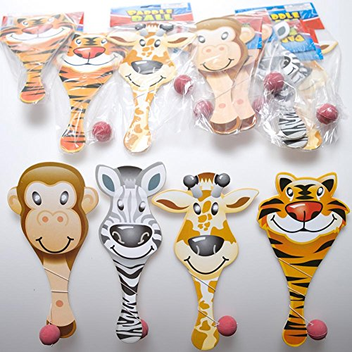 Animal Paddle Ball Games Pack