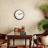 American retro green rural non-woven wallpaper