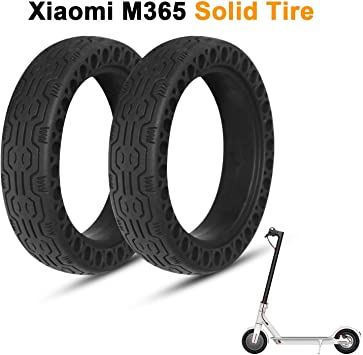 Solid Tires Wheel Explosion-proof Tire Replace for Xiaomi Mijia M365 Scooter