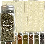 Talented Kitchen 144 White Spice Label and Pantry