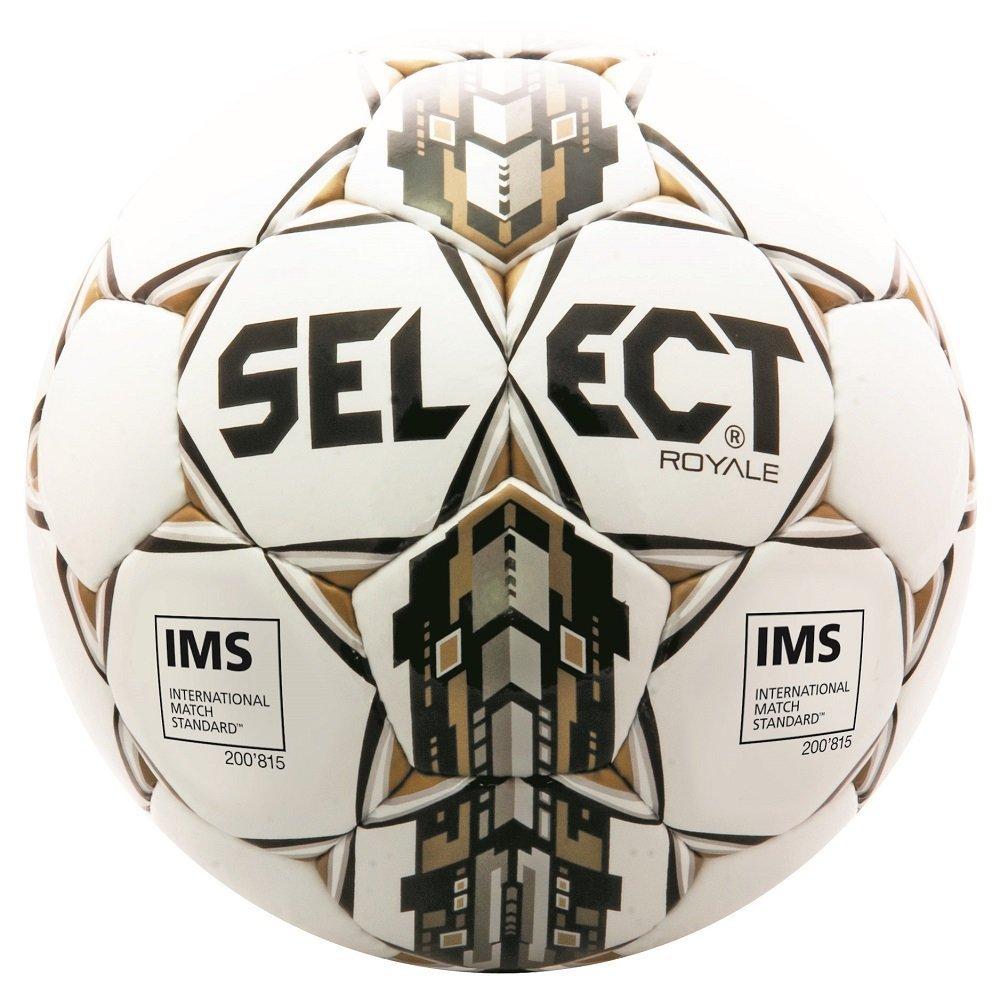 Select Royale Soccer Ball White/Black 5 [並行輸入品] B077QR9Z34
