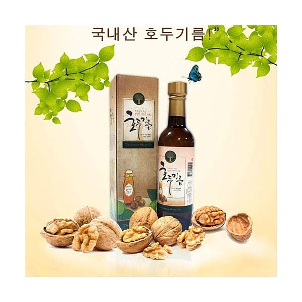 Walnut Oil 375ml for Cooking 100% Korean Walnut