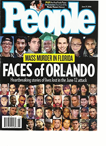PEOPLE WEEKLY JUNE, 27th 2016 MASS MURDER IN FLORIDA FACES OF ORLANDO (Gift Baskets Orlando Florida)