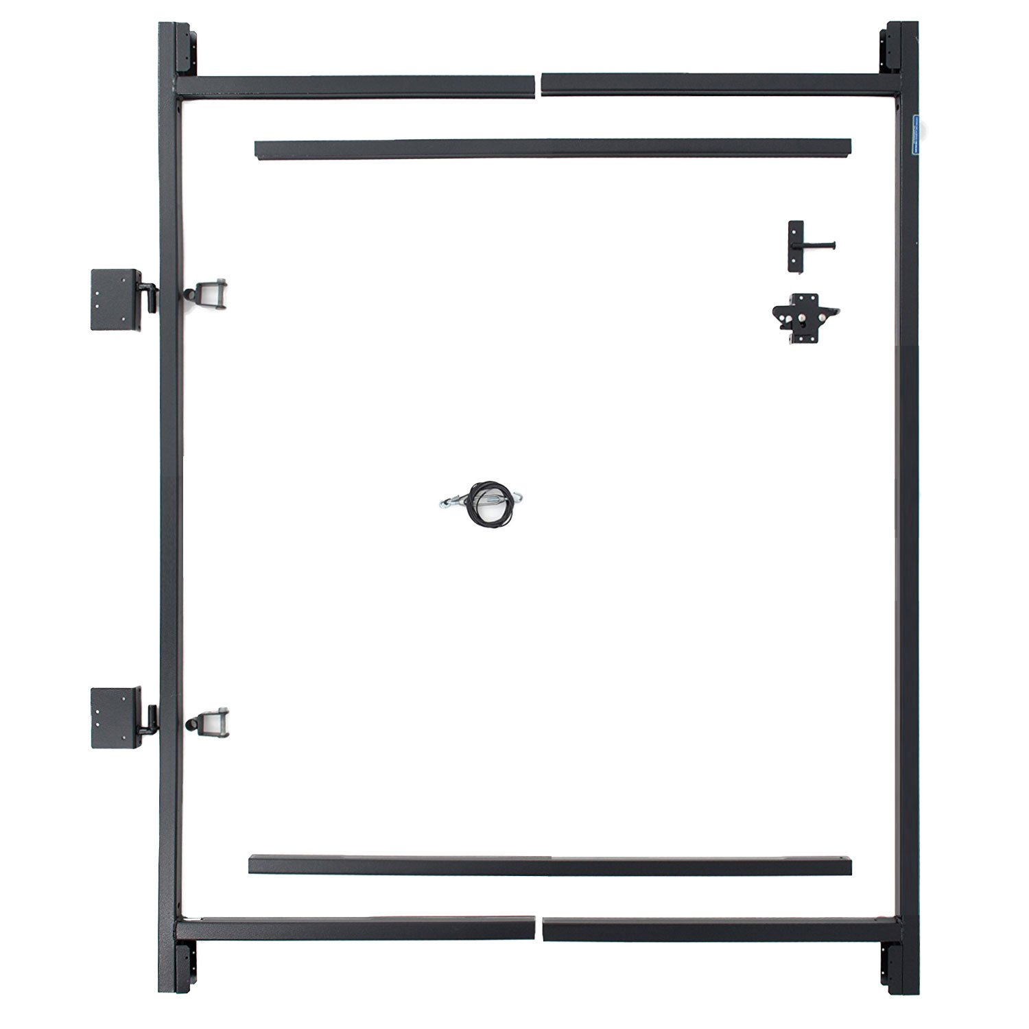 Adjust-A-Gate Steel Frame Gate Building Kit (36''-60'' wide openings up to 5' high fence) by Adjust-A-Gate