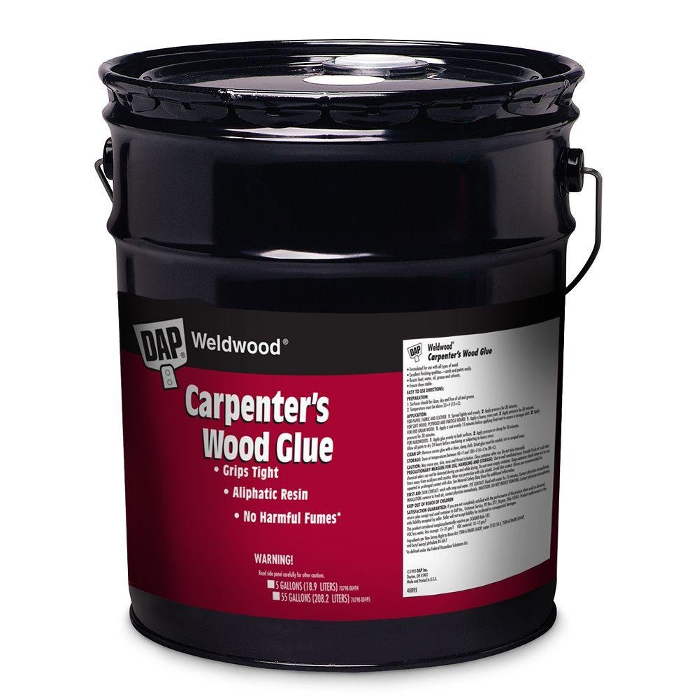 Dap 00495 55 Gallon Weldwood Carpenter's Wood Glue, Yellow