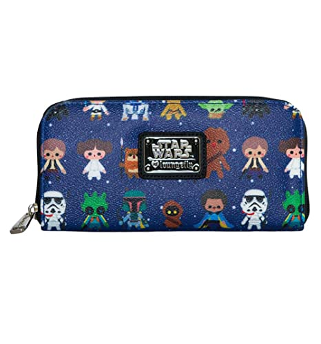 Loungefly x Star Wars Baby Character Print Wallet: Amazon.es ...