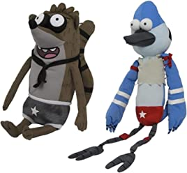 526ae01f0c10 The Regular Show Wrestling Buddies With Sound Set of 2