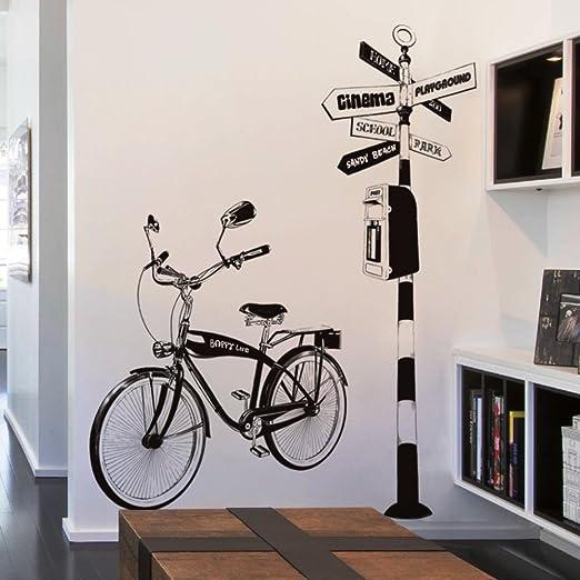 Etiqueta engomada bicicletas pintadas,Personalizada pegatinas ...