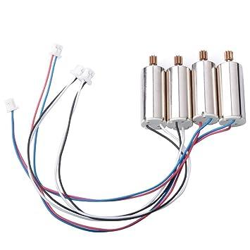 yunique uk � cw / ccw motor set for wltoys v686 / 686g / 686j / 686k jjrc  v686g rc quadcopter - 4pcs / set: amazon co uk: toys & games