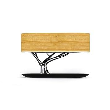Amazon.com: ShuangHong - Lámpara de mesita de noche con ...