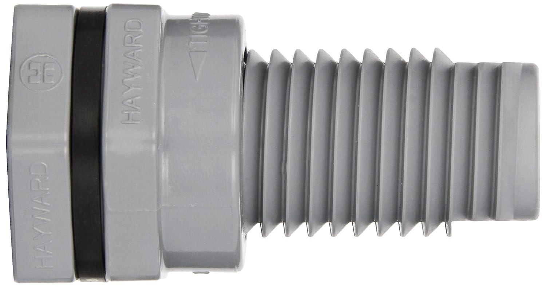Hayward BFA2005SES Series BFA Standard Flange Bulkhead Fitting 1//2 Size 1//2 Size Hayward Industries Inc. Socket x Socket End CPVC with EPDM Seals