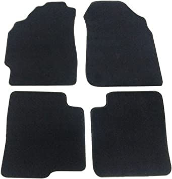 Amazon Com Floor Mats Compatible With 1998 2001 Nissan Altima Factory Fitment Car Floor Mats Front Rear Nylon By Ikon Motorsports 1999 2000 Automotive
