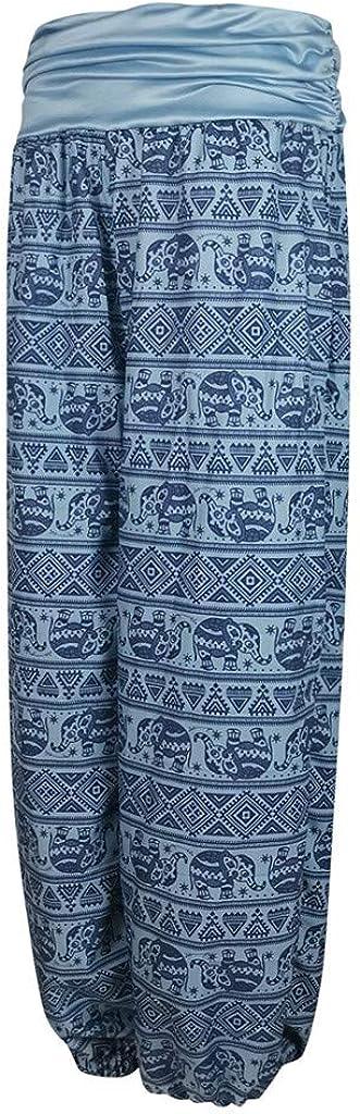Wtouhe Femme Pantalons,2020 Pas Cher Cadeau Yoga Boh/émien Harem Pants Sarouel Imprim/é Jambe L/âche D/écontract/é Spandex Doux Modal Pantalon Pilate Lanterne Sportwear Danse Casual Pantalon Grande Taille