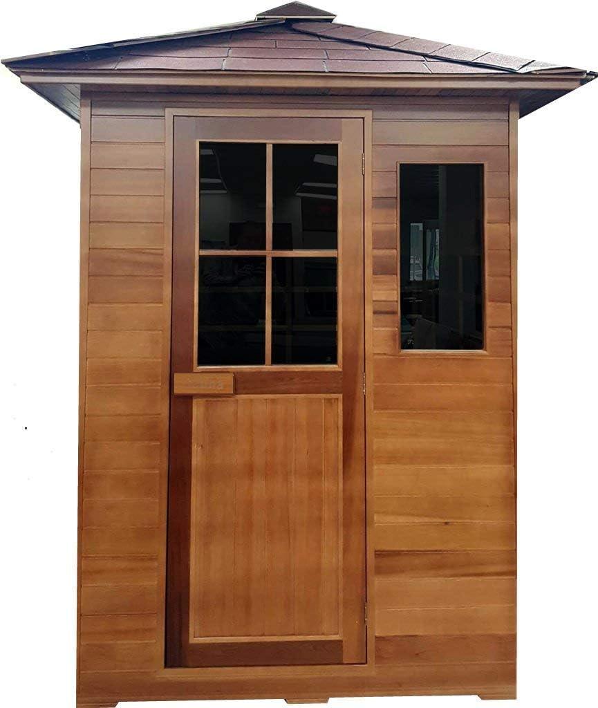 Best Durable: Canadian Cedar Backyard Infrared Sauna
