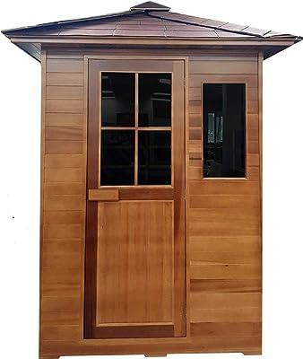Canadian Red Cedar Outdoor Backyard Sauna