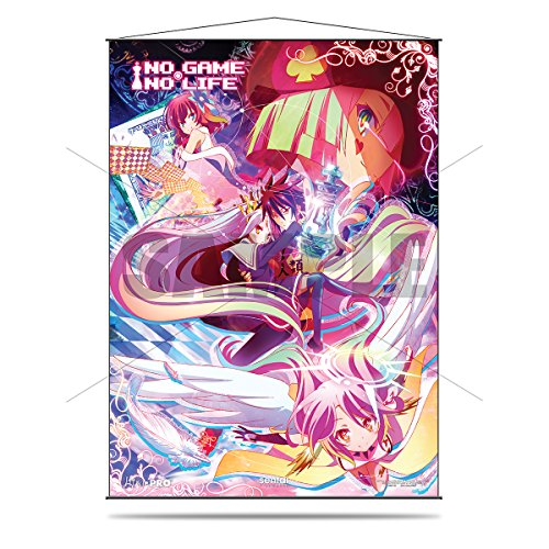 "Official No Game No Life ""Disboard"" Wall Scroll"