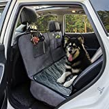 "FURRY BUDDY Dog Car Seat Cover with Deluxe Removable Velvet Seat Pad Fits Compact and Midsize Sedans and Compact SUVs, 100% Waterproof &Non-slip Backing &Hammock Convertible, 51""×58'' For Sale"