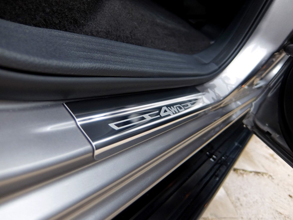 Double Cab Stainless Steel Sill Protectors Kick Plates Nissan Navara 2016 on