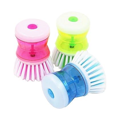 Brosse de lavage hydraulique Outil de lavage de bol multicolore