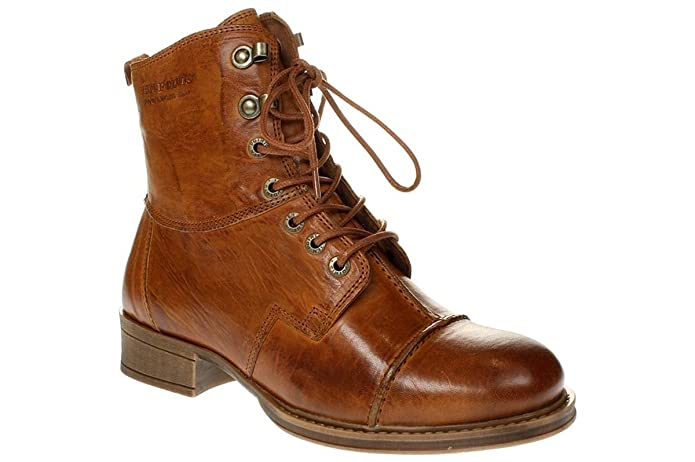 TEN POINTS Pandora 122001 - Damen Schuhe Stiefelette Boots - 319cognac
