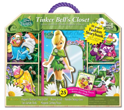 (Bendon Disney's Tinker Bell's Closet Sport and Spa Set)