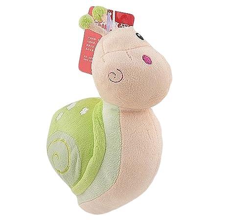Qingsun pequeños juguetes de peluche Caracol juguetes ...