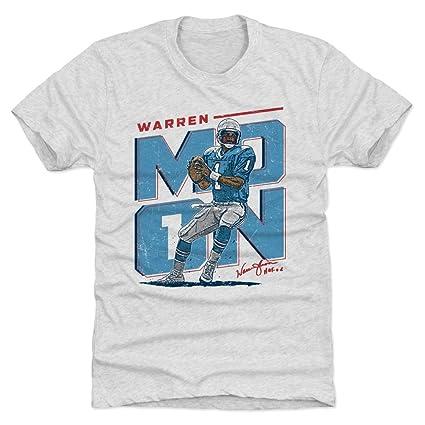 b6cc7d1a6f0 Amazon.com   500 LEVEL Warren Moon Shirt - Vintage Houston Football ...