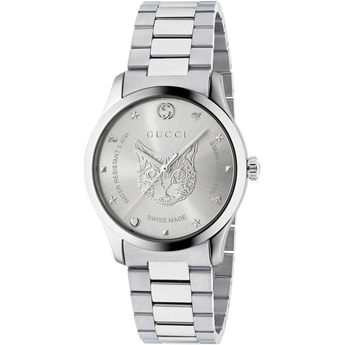 e8279353644 Amazon.com  Gucci G-Timeless Watch YA1264095  GUCCI  Watches
