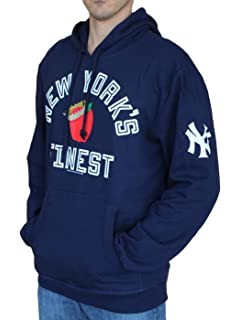 b9b2304a8 Mitchell   Ness New York Yankees MLB Batting Pullover Hooded Sweatshirt