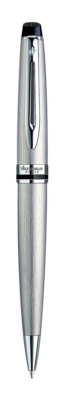 con estuche Waterman S0952200 Expert bol/ígrafo topo con adornos cromados