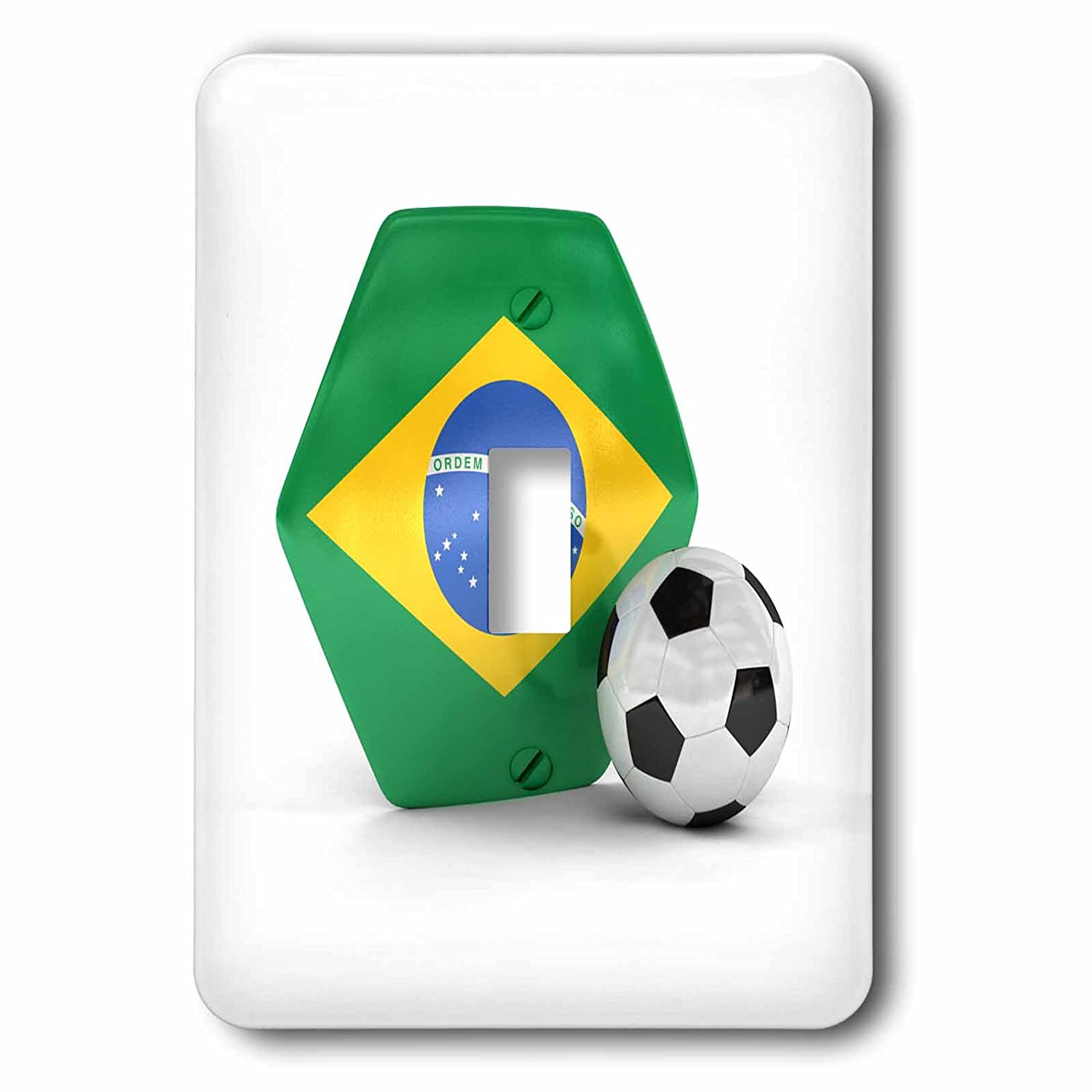 LSP/_181893/_1 Single Toggle Switch Brazil Soccer Ball lsp/_181893/_1 3dRose