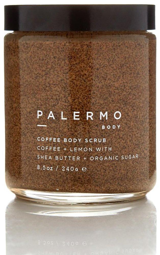 Palermo Body - Organic Coffee Body Scrub (Coffee + Lemon) (8.5 oz / 240 g)