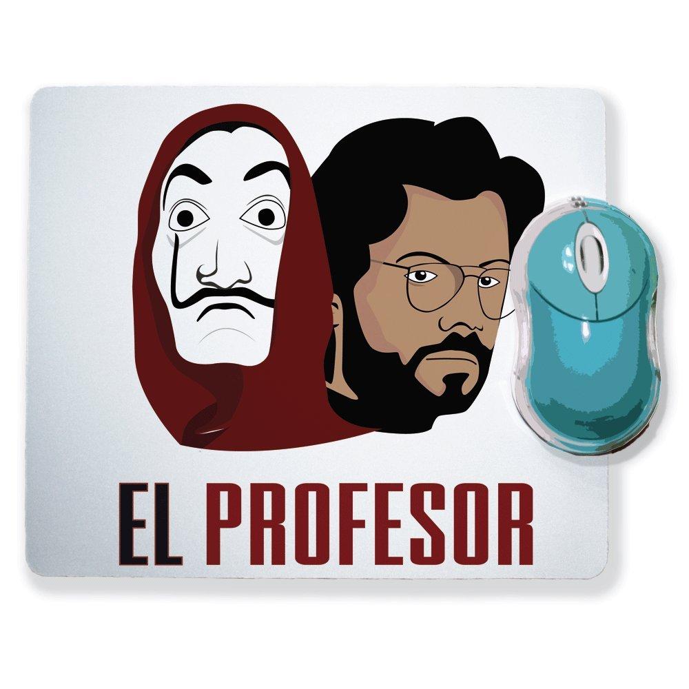 Alfombra de ratón la casa de papel - el profesor & máscara ...