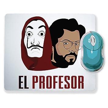 Alfombra de ratón la casa de papel – el profesor & máscara (el profesor)