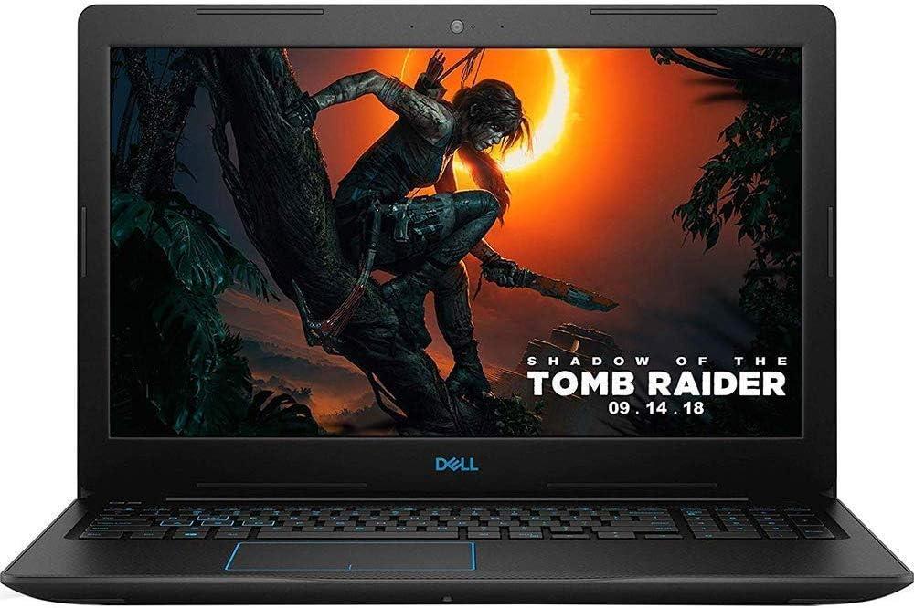 Dell G3 15.6-inch Full HD Gaming Laptop, Intel Quad Core i5-8300H Processor, 8GB DDR4 RAM, 1TB Hard Drive, NVIDIA GTX 1050 Ti 4GB, Backlit Keyboard, Bluetooth, Win 10, Black