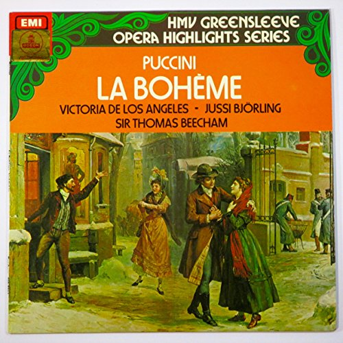 - Puccini: Highlights From La Boehme (HMV Greensleeve Opera Highlight Series)