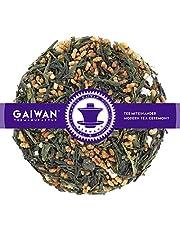 "N° 1123: Thé vert""Genmaicha Tokiwa (thé vert avec riz soufflé)"" - feuilles de thé - GAIWAN GERMANY - thé vert du Japon, riz soufflé"