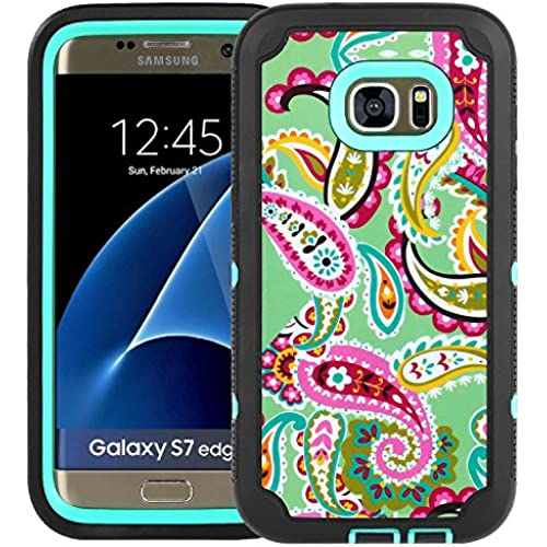 S7 Edge Case, SGM Dual Layer Protection High Impact Hybrid Armor Case For Samsung Galaxy S7 Edge (Screen Protector Sales