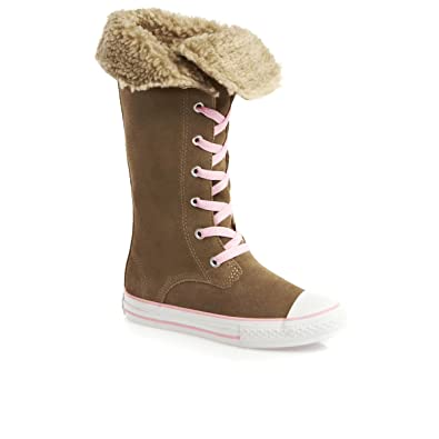 c727dc177f Converse CT Sharon Boot Lead Gray Junior 640479C UK 10-5  Amazon.co ...
