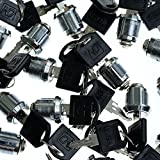 Source One Premium Cam Lock and Key Sets (75 Pack)