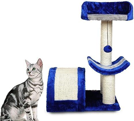 DIAOSI Gato arqueado Marco de Escalada Gato Saltando ...