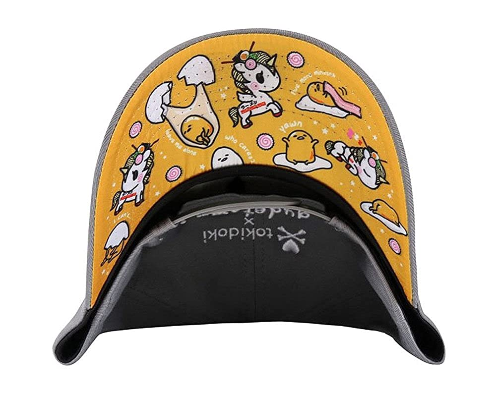 online retailer 7a0df 3e597 Tokidoki X Womens  Gudetama Ramen Nap Snapback Hat  Amazon.ca  Clothing    Accessories