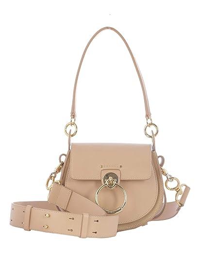 Chloé Women s Chc18ws153a376h7 Pink Leather Shoulder Bag  Amazon.co.uk   Clothing 837cf94d49