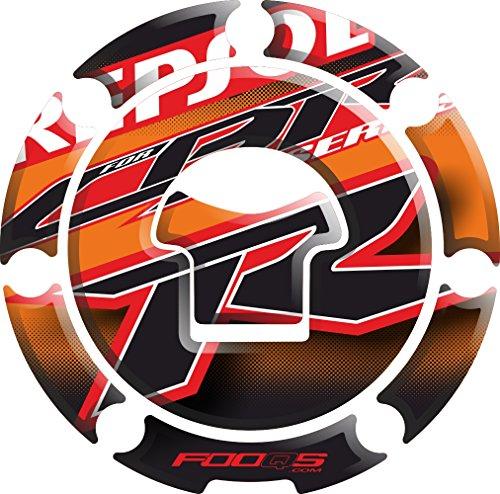 Honda Cbr Repsol - Motorcycle Fuel Tank 3 d 3d Gel Decal Gas Cap Pad Cappad Cap-pad Cover Sticker Tankpad Tank Pad Tank-pad for Honda Cbr 1000rr Cbr1000rr 1000 Cbr600rr 600rr (Repsol)