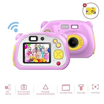 Amazon.es: Cámara Digital para niñas, con Pantalla de 12 MP ...
