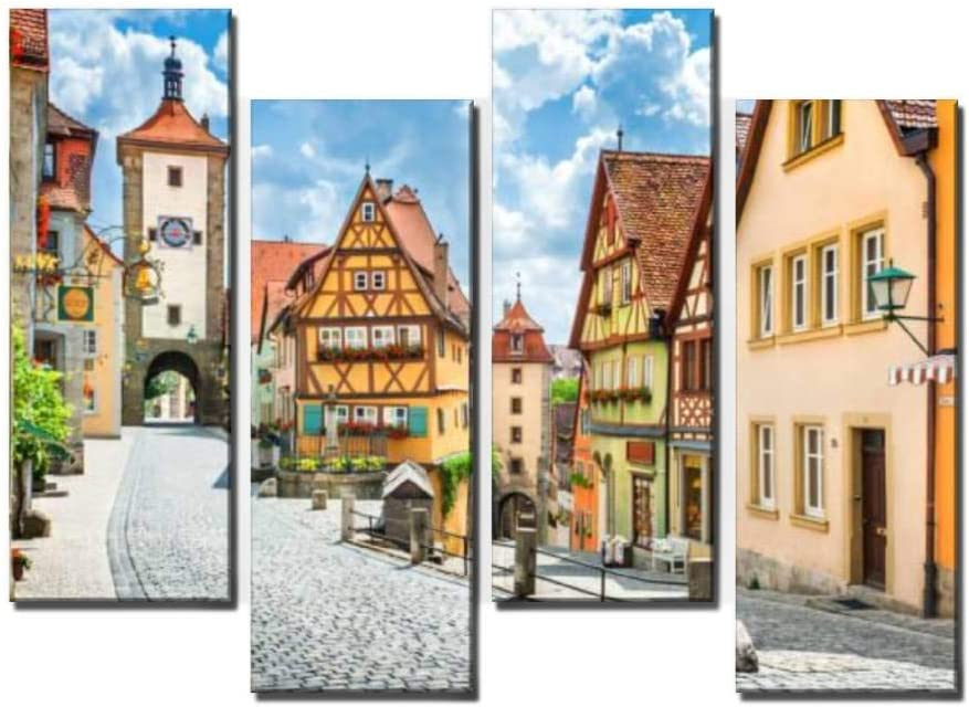 Wocatton Historic Factory outlet Omaha Mall Town of Rothenburg Tauber der Bav ob Franconia