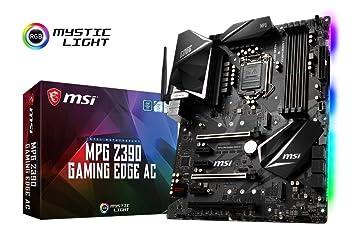 MSI MPG Z390 GAMING EDGE AC - Placa base Performance (LGA 1151, Twin Turbo M.2, ...