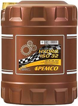 1 X 10l Pemco Hydro Iso 32 Hydrauliköl Din 51524 Hlp Auto
